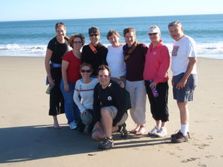 MFO Summit group beach