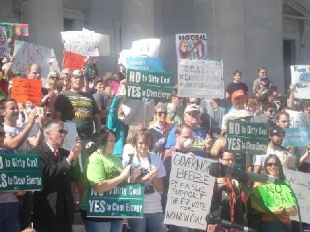 AR coal rally posters