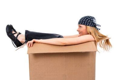 Cardboard-box-woman