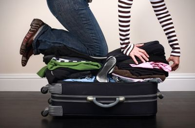Pack fewer clothes