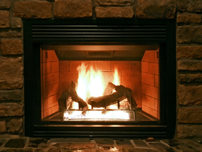 Wood-burning fireplaces spout excessive heat and pollution out the chimney – and they rapidly burn through logged wood. To keep your hearth and its heating abilities green