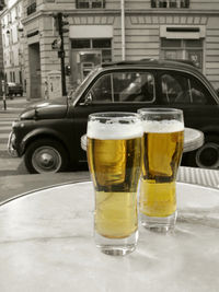 Beer for cars