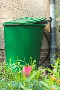 DIY rainwater collection system