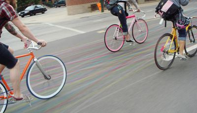 Bike contrails