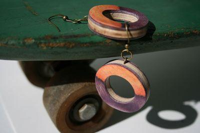 Skateboard jewelry