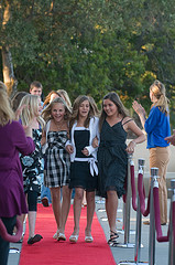 Premiere - red carpet girls