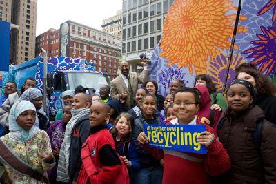 Philadelphia recycles