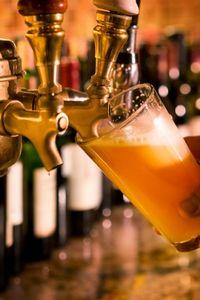 Draught beer is greener