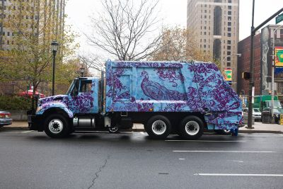 Philadelphia's recycling trucks make an impact
