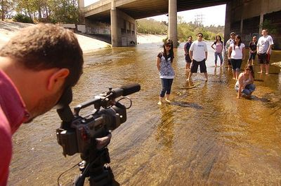 Making the Departures LA River documentary