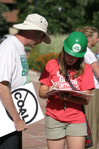 CO Coal rally sign-up