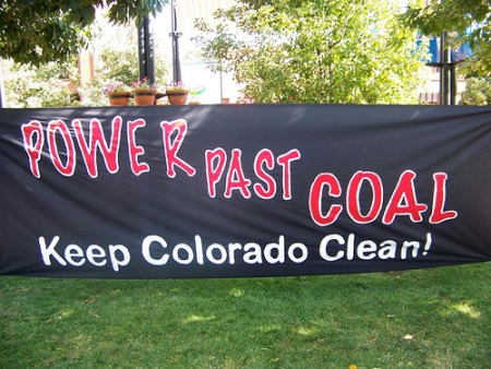 CO Coal Rally Banner