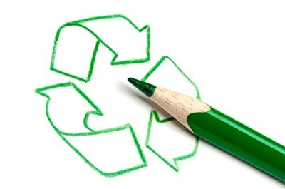 Look for recycled supplies