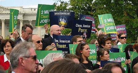 Clean-energy-supporters