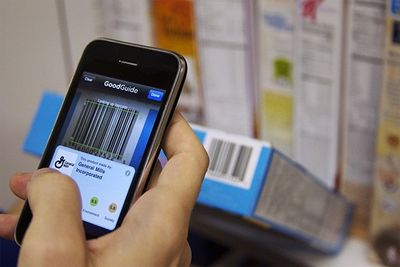 GoodGuide iPhone app scans products and delivers green information for shoppers