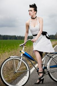 Bike fashionistas want to look good and go places