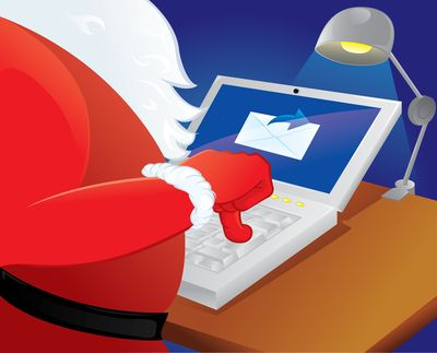 Even Santa sends eCards