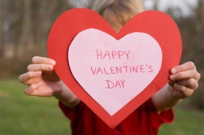 Green Valentine's Day cards