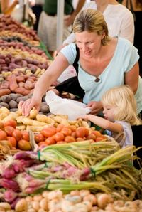Shop at your local farmers' market