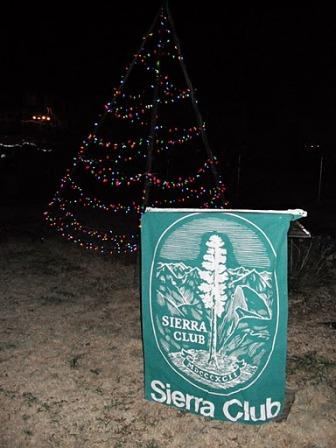 Green tree sign