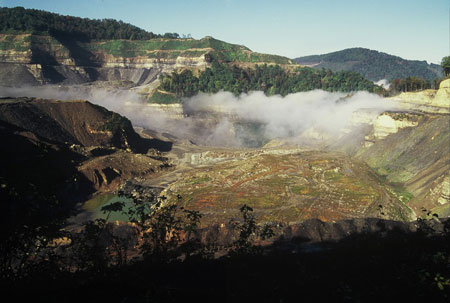 Mountaintop-removal