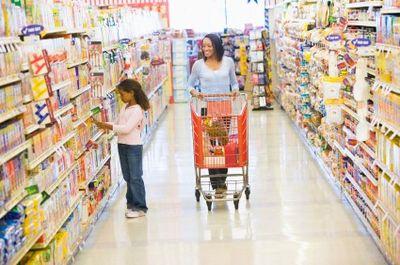 Grocery store greening groceries