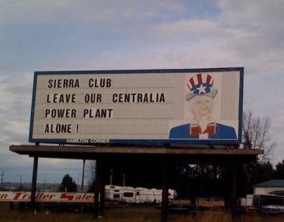Billboard on I-5
