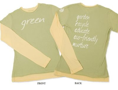 Chewylou green shirt