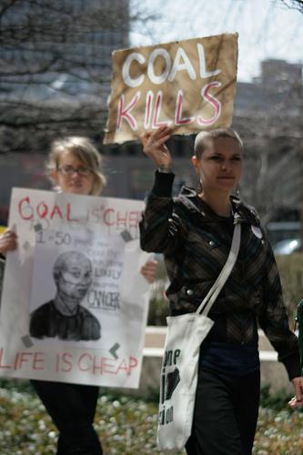 Coal kills+life is cheap