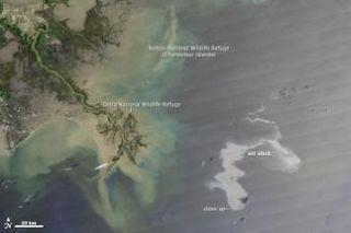 NASA derrame