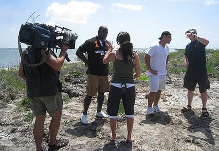 Ovie-Mughelli-with-reporter