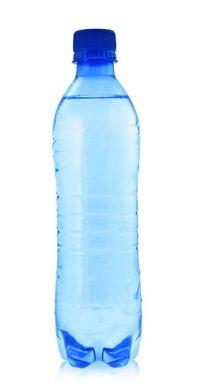 Water bottle for toilet tank