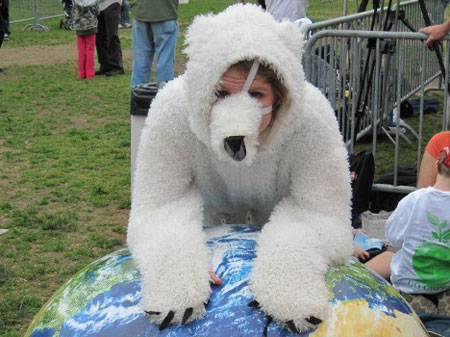 Climate-Rally-polar-bear