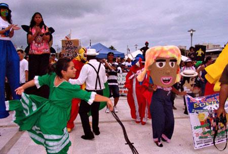 Festival-dancers