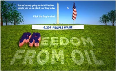 Freedom from oil