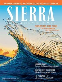 Sierra magazine cover