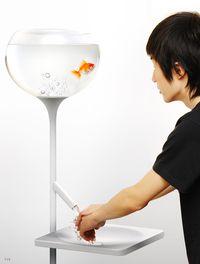 Fishbowl sink by Yan Lu