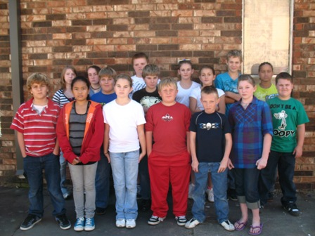 Bokoshe 6th graders