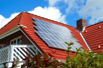 Put solar panels on your roof