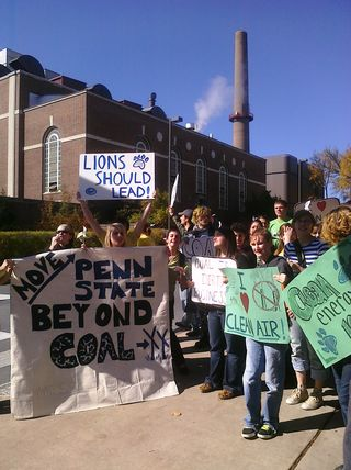 PSU Coal Rally Nov09 2