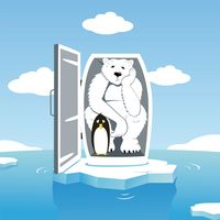 Climate change mascots