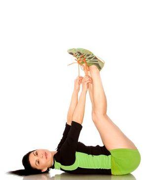 Green workout gear