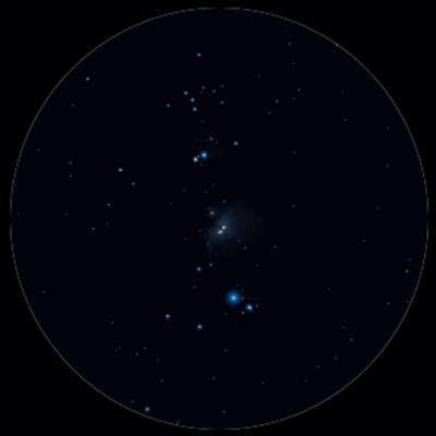 Orion Nebula binoculars Roberto Mura