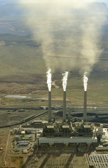 Navajo Powerplant Aug 2010