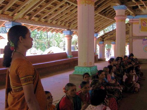 India Day 3 temple and Sampada