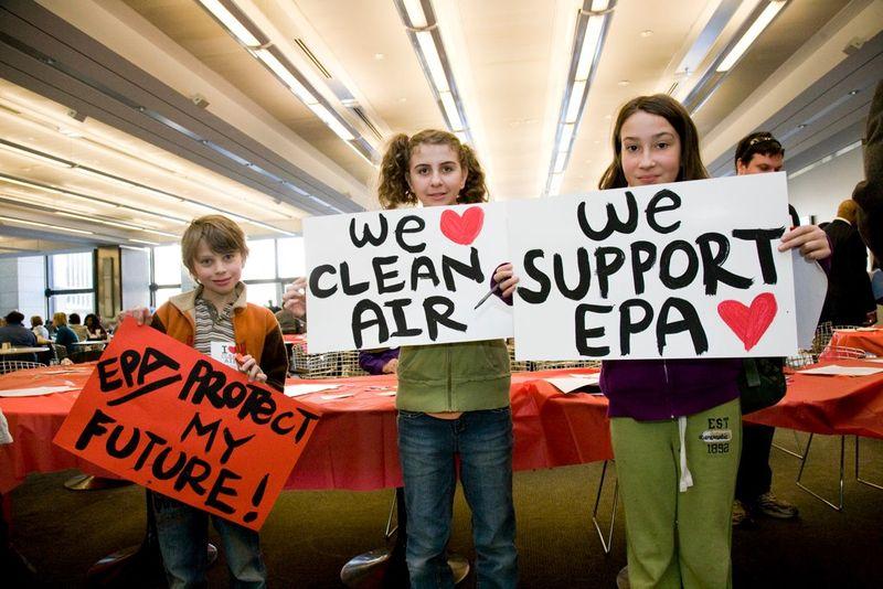 Kids for clean air
