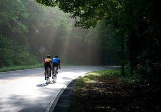 Biking in the countryside
