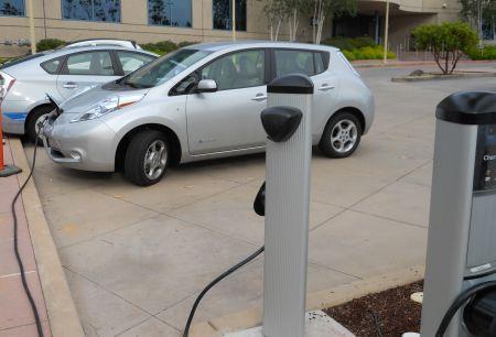Nissan Leaf EV Symposium