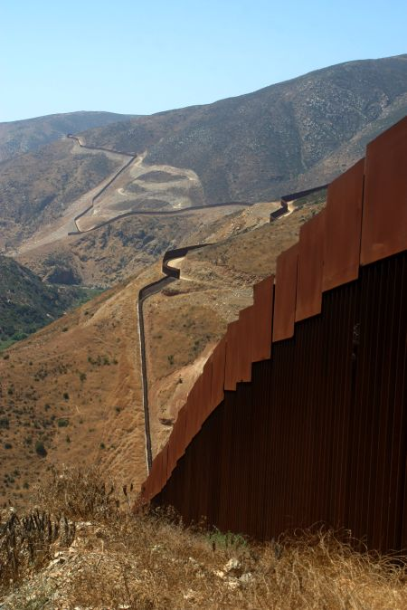 Otay Mtn Wilderness wall