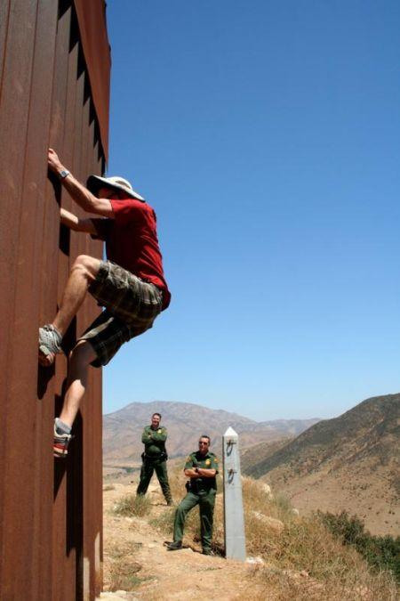 Dan Millis, wall climber